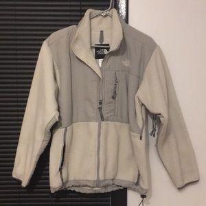 North Face Two Tone Gray Denali Jacket